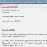 KABOOM! Feds Release Info On 'Alpha Trade Group' Forex Scheme With Ties To Mexico, Panama; Records Suggest Scheme Was Collapsing Even Prior To Promos On TalkGold, MoneyMakerGroup Forums