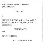 SEC: Utah Ponzi Schemer With 'Loans' Program Ripped Off Church Associates, Family Members, Friends, Seniors -- And Some Of The Money Went To 'Multilevel Marketing And Web-Based Advertising Business Opportunities'; Separately, Newspaper Reports Allegations Of Cash Handoffs To Investors In Parking Lots